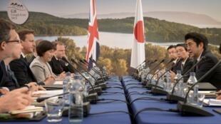 Cumbre del G8, en Eniskillen, Irlanda, este 17 de junio de 2013.