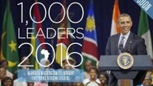 Programa Mandela 2016 para jovens líderes africanos prossegue em Washington com presença de afro-lusófonos