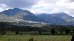 Vue des montagnes du Rif près de Chefchaouen.