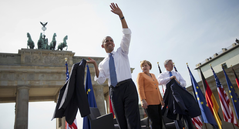 Ziyarar Barack Obama, a kasar Jamus