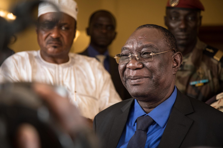 L'ancien président centrafricain Michel Djotodia, lors de son retour à Bangui, le 10 janvier 2020.