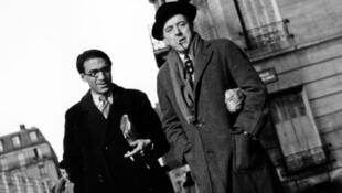ژاک پرور و ژوزف کوسما – پاریس، حوالی ١٩۴۵