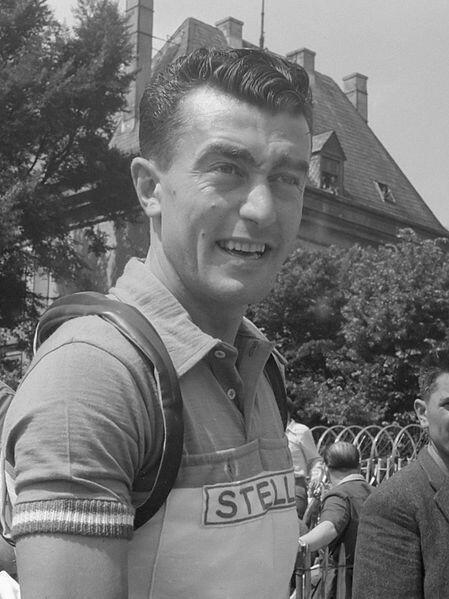 Louison Bobet, triple vainqueur du Tour de France.