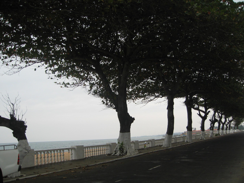 O território insular de São Tomé e Príncipe está exposto às alterações climáticas