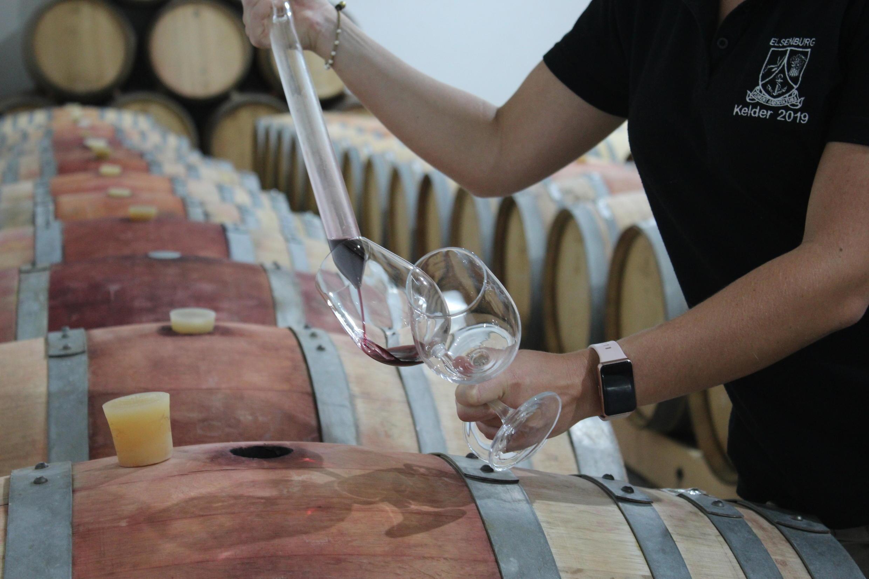 Du vin issu du domaine «Haut-Espoir», aux abords du Cap, en Afrique du Sud.