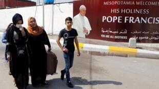 Bagdad irak pape visite