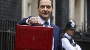 British Finance Minister George Osborne