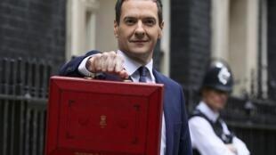 O ministro da Economia britânico, George Osborne
