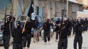 Mayakan IS da ke da'awar jihadi a Iraqi da Syria