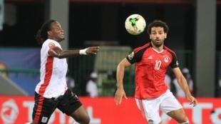 L'Egypte de Mohamed Salah a fini par trouver la clé face à l'Ouganda.