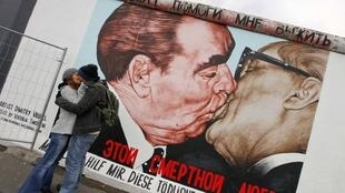 Легендарное граффити Дмитрия Врубеля