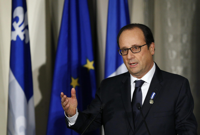 François Hollande a reconnu l'implication de la France dans l'évacuation de Blaise Compaoré alors qu'il était en visite au Canada.