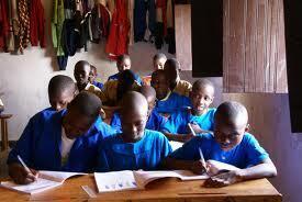 Wanafunzi wakiwa darasani nchini Rwanda