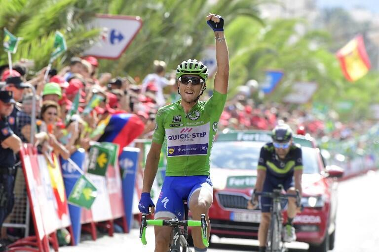 O ciclista italiano Matteo Trentin (Quick-Step Floors) venceu a décima etapa da Volta a Espanha.