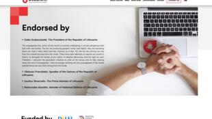 Une page du site Debunk.eu, la version anglaise de Demaskuok, le site lituanien de lutte contre la désinformation.