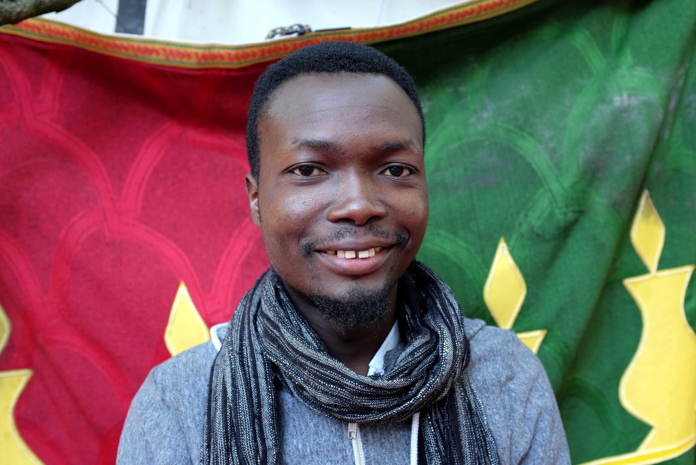 Sèdjro Giovanni Houansou (Bénin), lauréat du Prix RFI Théâtre 2018.