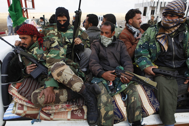 Повстанцы. Восточная Ливия 01/04/2011