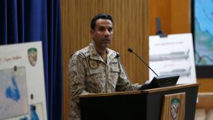 ترکی المالکی سخنگوی ائتلاف کشورهای عربی علیه حوثی های یمن