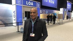 Victor Bonfim, director da Conservação, Saneamento e Qualidade do Ambiente de São Tomé e Príncipe.