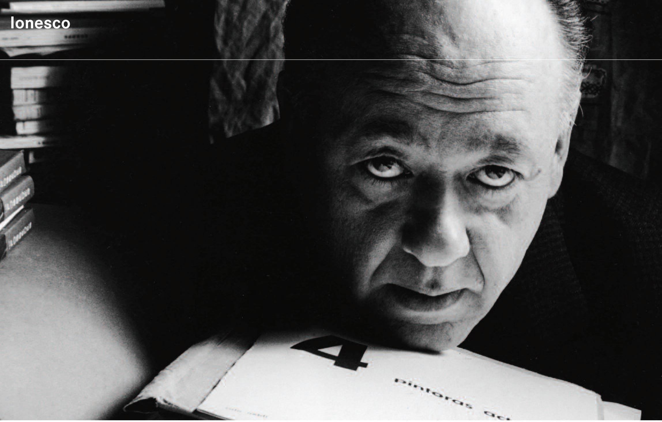 Выставка, посвященная Эжену Ионеско (Eugène Ionesco) в BNF