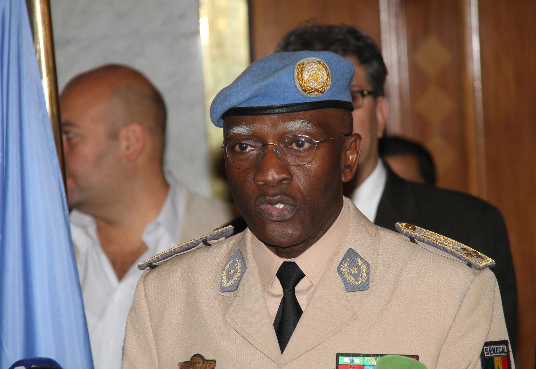 Babacar Gaye nouveau chef de la mission des observateurs de l'ONU en Syrie.
