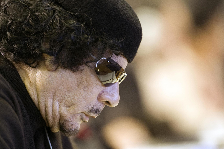 Mouammar Kadhafi, leader libyen de 1969 à 2011.