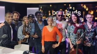 Claudy Siar, Céline Guillaume et leurs invités du 2 mai 2019.