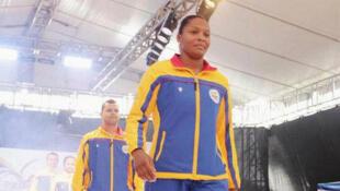 Yuri Alvear representa a Colombia en Judo, 70 kilos.