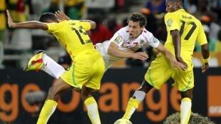 Lors de Tunisie-Togo durant la CAN 2013.