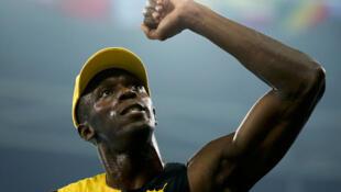 Usain Bolt, medalla de oro de los JO de Río en los 100 metros. Primer atleta que gana  3 preseas doradas consecutivas