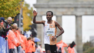 Kenenisa Bekele, here winning the 2019 Berlin Marathon, is unlikely to feature at the Tokyo Olympics after refusing to run a qualifier on Saturday