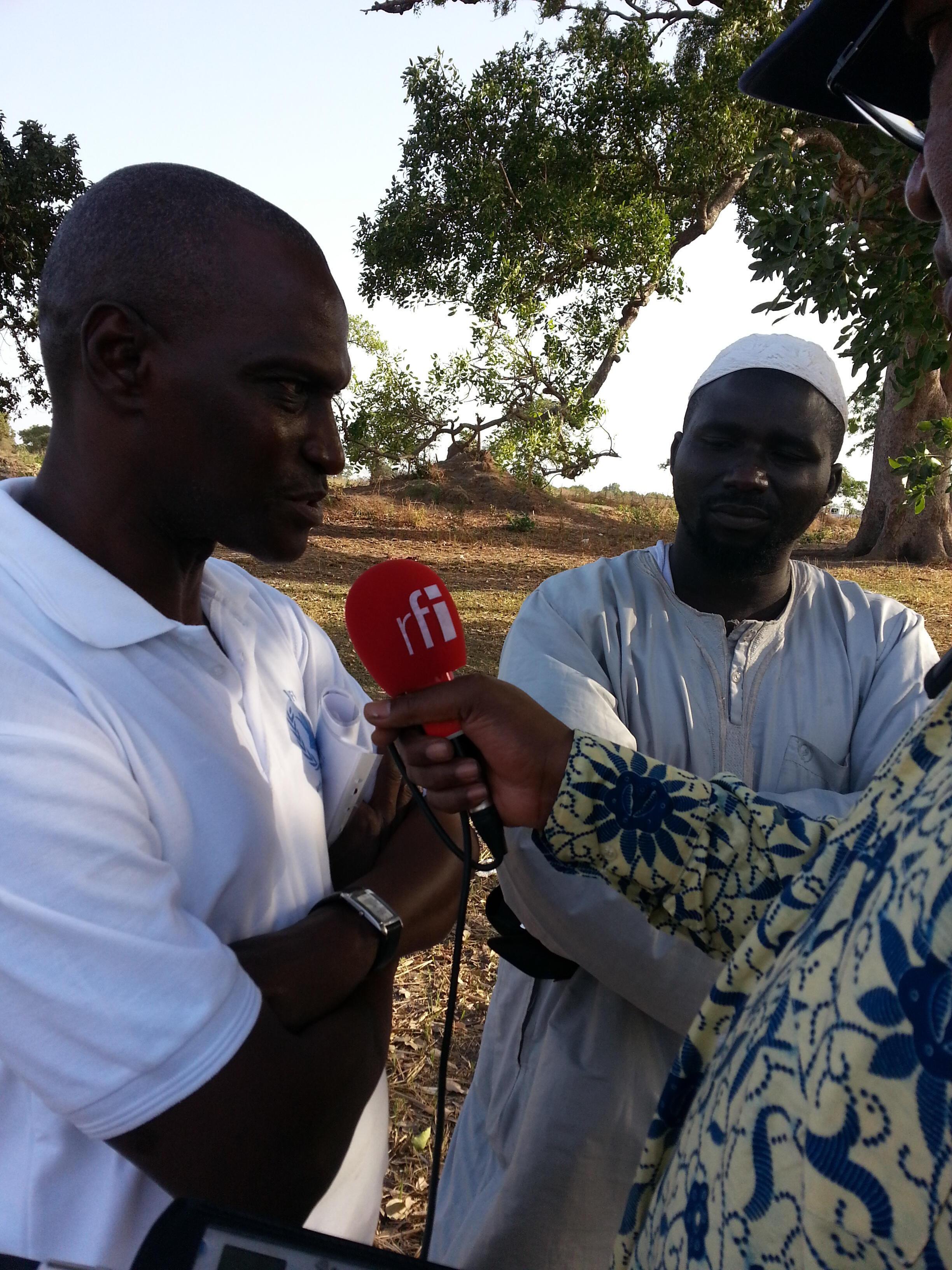 Mamadou Lamine Konté, chargé du développement rural du sous-bureau du PAM à Kaolack.