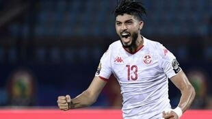 Ferjani Sassi's deflected shot put Tunisia in front shortly after half-time