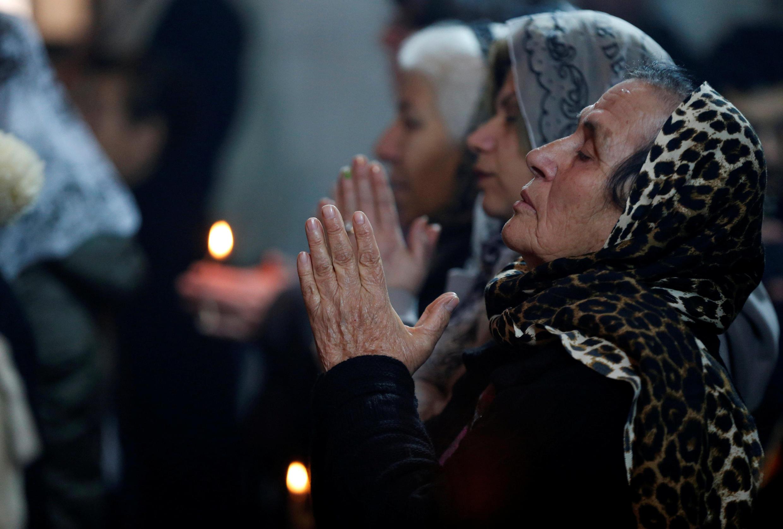 صدها تن از مسیحیان عراقی، در شمال این کشور، برای نخستین بار پس از سه سال، جشن میلاد مسیح را برگزار کردند.