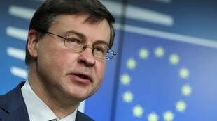 """We now in a sense have suspended... political outreach activities from the European Commission side,"" EU Executive Vice President Valdis Dombrovskis told AFP in an interview about efforts to win approval for the EU's investment deal with China"