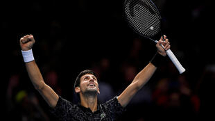Novak Djokovic is seeking a record equalling sixth crown at the end of season championships.