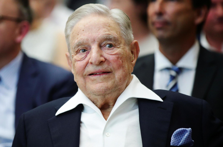 មហាសេដ្ឋីអាមេរិកាំង លោក George Soros នៅទីក្រុងវីយ៉ែន ថ្ងៃទី ២១មិថុនា ២០១៩