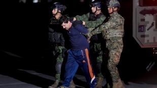 Arresto del «Chapo» Guzman en Los Mochis (México) el pasado viernes