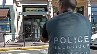 French scientific police in Cannes