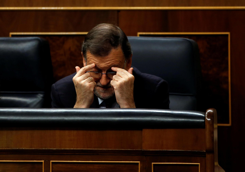 Mariano Rajoy en el Congreso de los Diputados el 2 de septiembre de 2016.