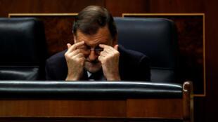 Primeiro-ministro interino, Mariano Rajoy, nesta sexta-feira (2).