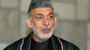 Shugaban Afghanistan, Hamid Karzaï.