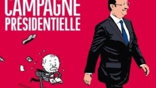馬蒂約 薩班強調法國總統奧朗德圓圓的外表,奧朗德強調要與普通人一樣的考量,的確也成為他《總統競選》漫畫專輯表現的兩個重要特徵。