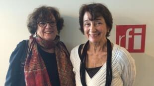 Florence Lévi e Gilda Oswaldo Cruz (d) apresentaram a revista acadêmica Sigila.