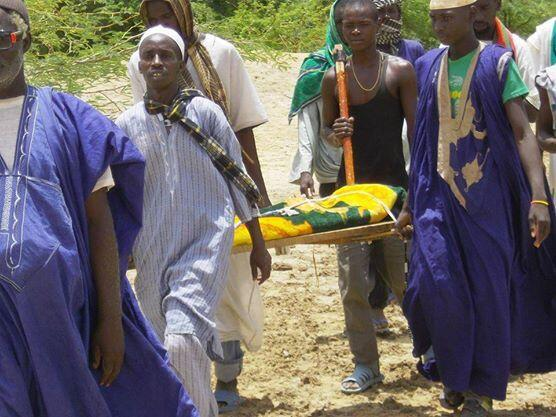 Scène du documentaire « Retour sans cimetière » du réalisateur mauritanien Djibril Diaw.