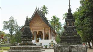 Một ngôi đền cổ ở Luang Prabang