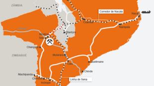 Linha de Sena e Corredor de Nacala, ferrovias estratégicas