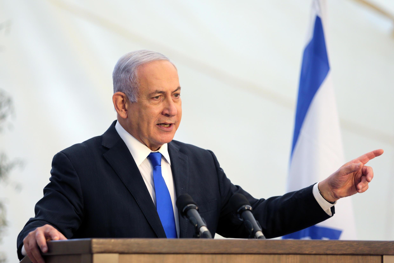 El primer ministro de Israel, Benjamin Netanyahu, el 29 de noviembre de 2020