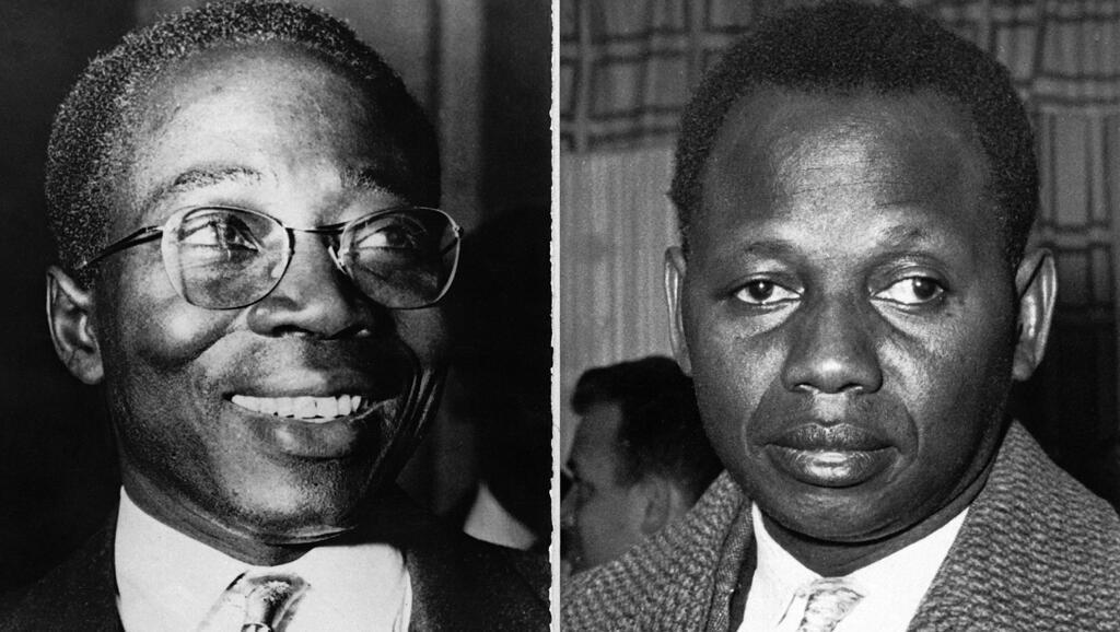 De gauche à droite : Leopold Sedar Senghor et Mamadou Dia (1962).