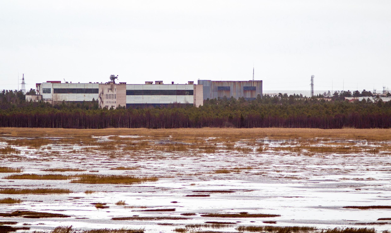 Ảnh chụp vào năm 2011 của căn cứ quân sự Nionoska, vùng Arkhangelsk, miền Bắc Nga.